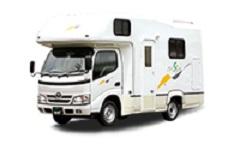 バジェットレンタカー成田空港店『キャンピングカーで癒しの旅へ!クレソン6名乗り(禁煙)』